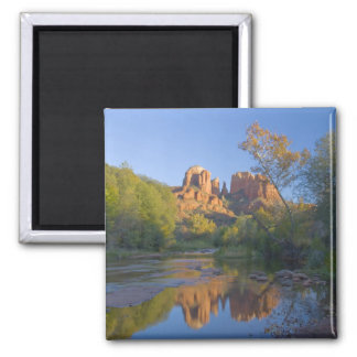 AZ, Arizona, Sedona, Crescent Moon Recreation Magnets