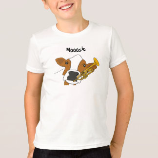 AZ- Funny Cow and Trumpet Shirt