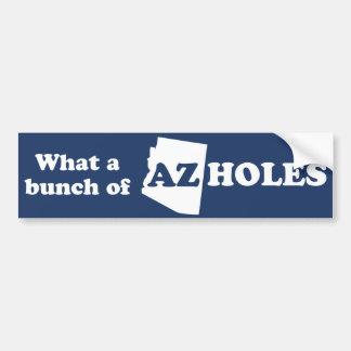 AZ-Hole Bumper Sticker