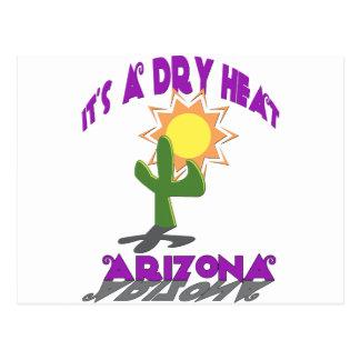 AZ-It's a Dry Heat Postcard