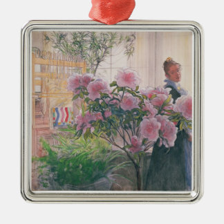 Azalea, 1906 (w/c on paper) christmas ornament