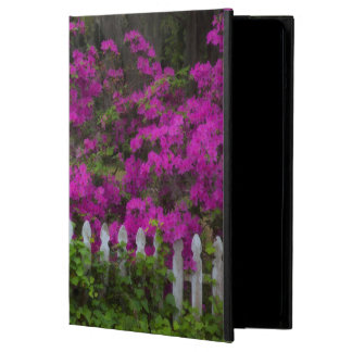 Azaleas in the spring at Historic Isle of Hope iPad Air Case