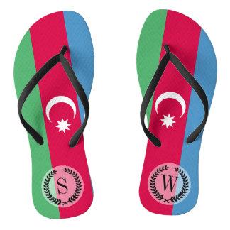 Azerbaijan Flag Jandals
