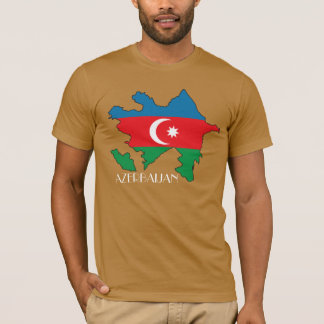 Azerbaijan Flag-Map Shirt