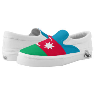 Azerbaijan Flag Slip-On Shoes