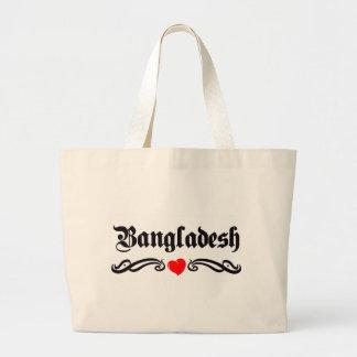 Azerbaijan Tattoo Style Tote Bags