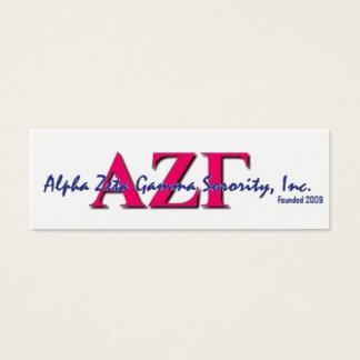 AZG Skinny Cards