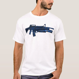 Azmodeus Camo Blue M16, T-Shirt