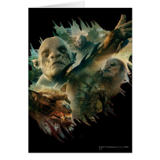 Azog, Narzug, and Bolg Graphic Card