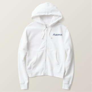 Azorean Girl Embroidered Hoodie
