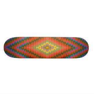 Aztec cool geometric design skateboard decks