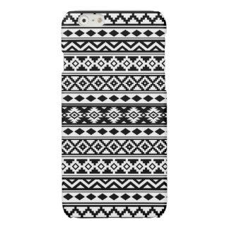 Aztec Essence Pattern IIb Black & White