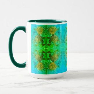 Aztec Green Adventure Mug