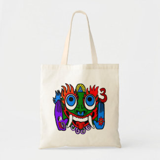 Aztec Pagan God Tote Bag