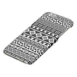 Aztec Style Pattern - Monochrome