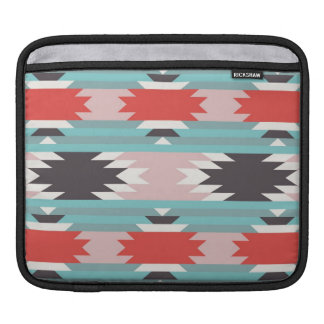 Aztec Tribal Pattern Native American Prints iPad Sleeves