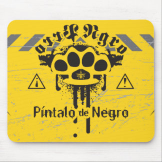 AZTK Mousepad Perro Negro