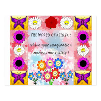 Azulia Patch Postcard