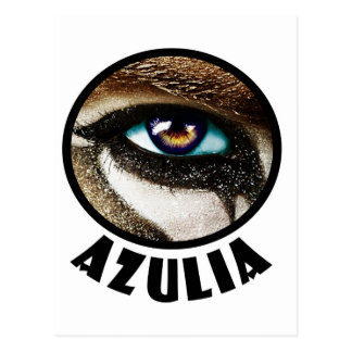 Azulia Warrior Eye Postcard