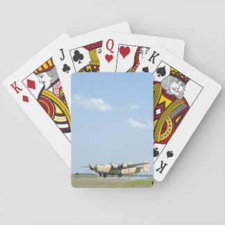 B24 Liberator. (plane;b24_WWII Planes Playing Cards