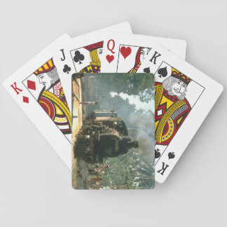 B5305 stops to raise steam_Steam Trains Playing Cards