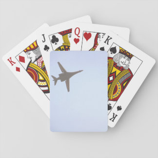 B-1 Bomber._Military Aircraft Playing Cards