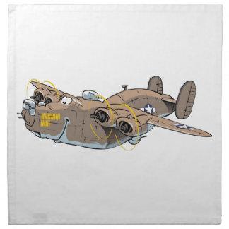 B-24 Liberator Napkin