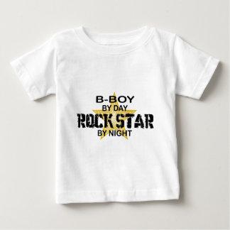 B-Boy Rock Star by Night Baby T-Shirt