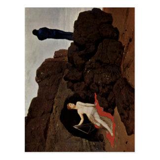 B?cklin, Arnold Odysseus und Kalypso 1883 Techniqu Post Card