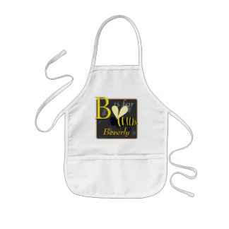 B Is For Bee B Is For Beverly Kids Apron