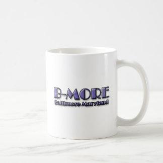 B-MORE Baltimore Maryland Logo Coffee Mug