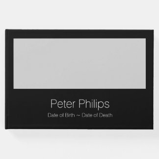 B Template Funeral Guest Book Add favorite image