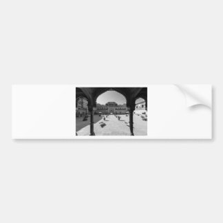 B&W Chomu Palace Bumper Sticker