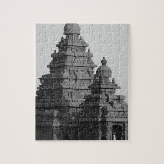 B&W Golden Temple in India Jigsaw Puzzle
