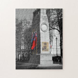 B/W Tinted War Memorial London Puzzle