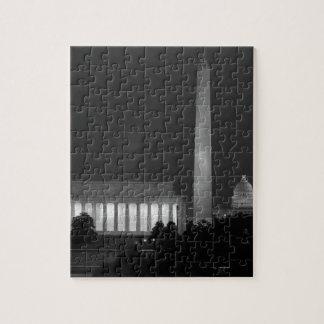 B&W Washington DC 3 Jigsaw Puzzle