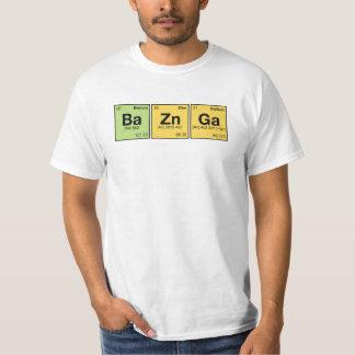 BA ZN GA! Periodic Table Elements Scramble T-Shirt