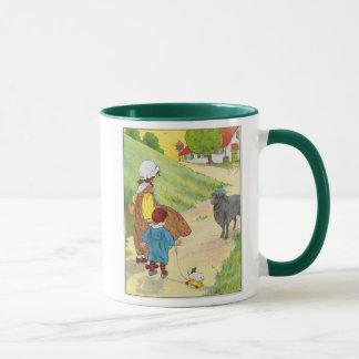 Baa, baa, black sheep, Have you any wool? Mug