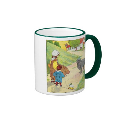 Baa, baa, black sheep, Have you any wool? Coffee Mug
