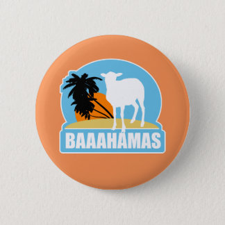 Baahamas Beach 6 Cm Round Badge