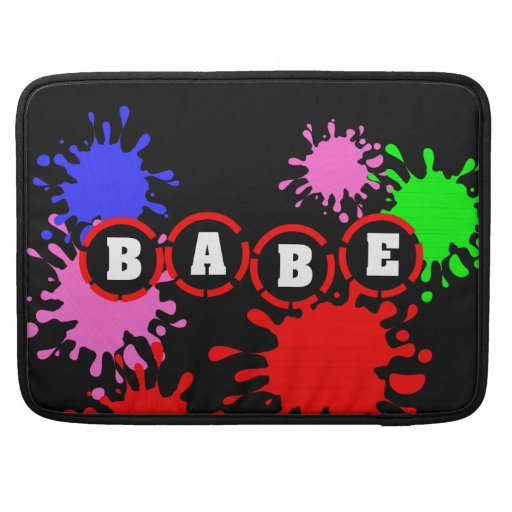 Babe Macbook Pro Sleeves