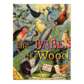 Babes in the Wood Postcards