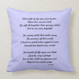 Babies Throw Pillow