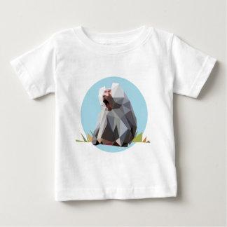 baboon polygon baby T-Shirt