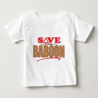 Baboon Save Baby T-Shirt
