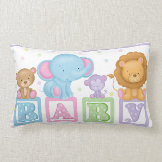 BABY Animals Lumbar Pillow