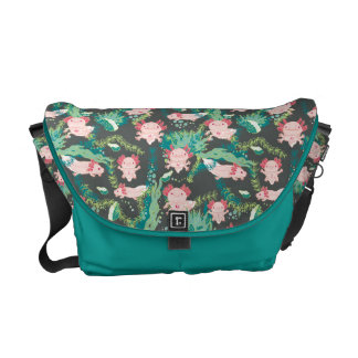 Baby Axolotl Commuter Bag