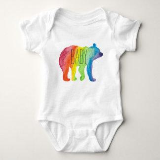 Baby Bear Watercolor Family Pride Bodysuit