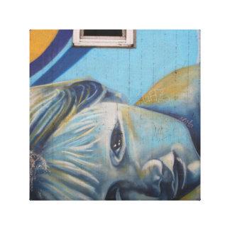 Baby Beautiful Graffiti Art Canvas Canvas Print