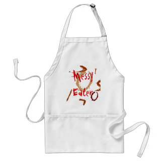 Baby Bib - messy eater Adult Apron